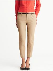 Sloan fit slim ankle pant