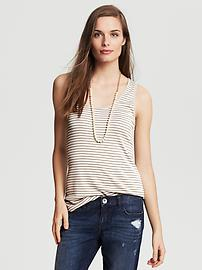 Striped Milano Tank