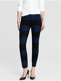 Sloan-Fit Rugby Stripe Slim Ankle Pant