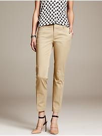 Hampton-Fit Sateen Crop