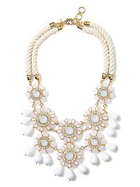 Catalina Bib Necklace