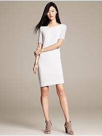Perforated T-Shirt Dress