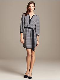 Chain Print Riviera Dress