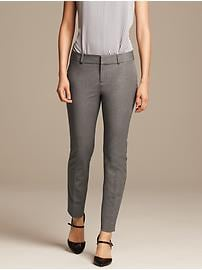 Sloan-Fit Gray Slim Ankle Pant